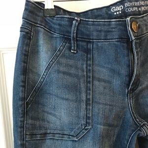 GAP boyfriend crop jeans